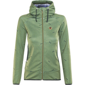 Maloja AmaliaM. Hooded Fleece Jacket Damen bamboo